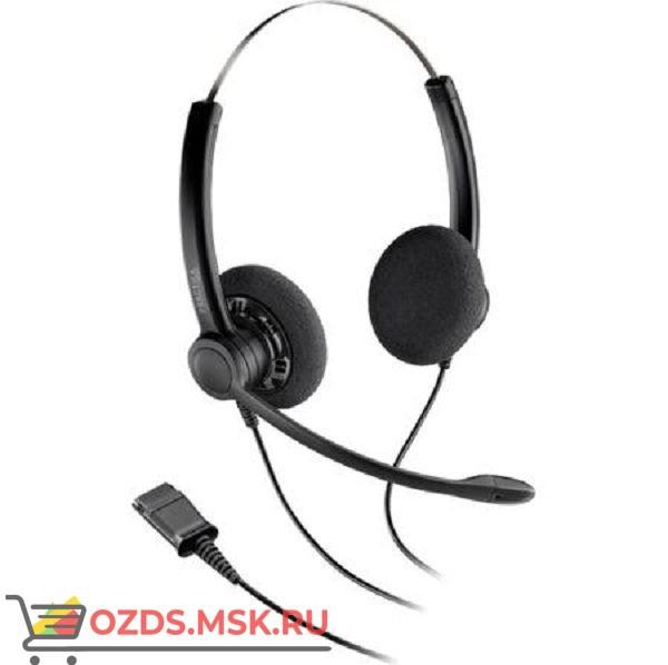 Plantronics SP12-QDSP-G: Проводная гарнитура в комплекте с переходником для телефонов Generic