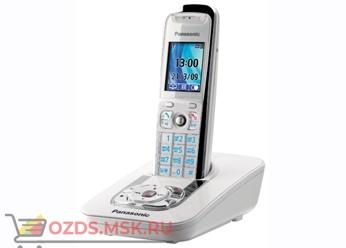 Panasonic KX-TG8421RUW-с автоответчиком, цвет белый: Беспроводной телефон DECT (радиотелефон)