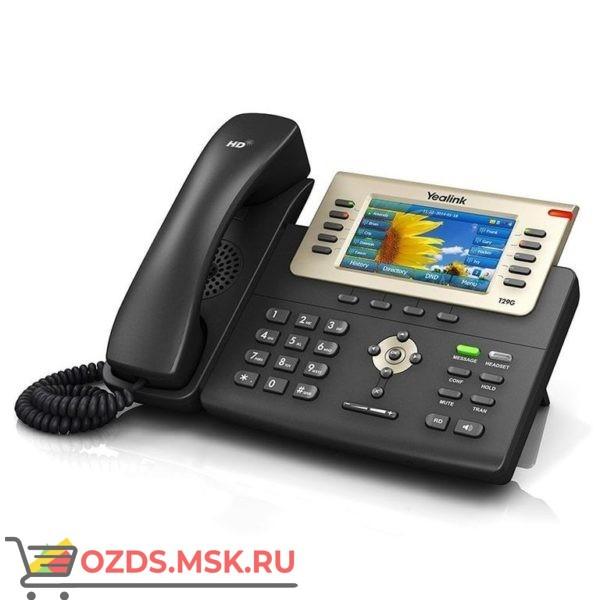 Yealink SIP-T29G-цена, описание возможностей и технические характеристики. SIP телефон Yealink SIP-T29G купить или с доставкой по России: IP-телефон