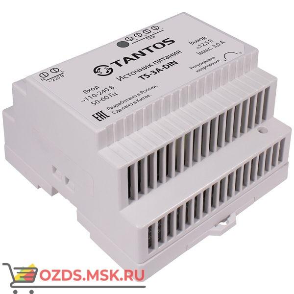 Tantos TS-3A-DIN: Источник питания стабилизированный на DIN-рейку