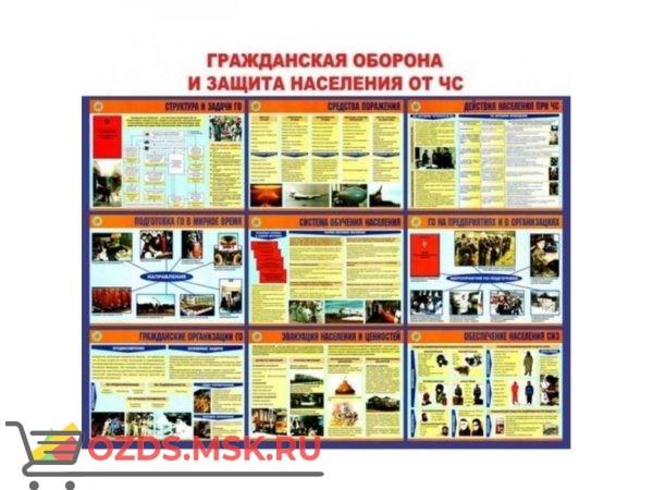 Гражданская оборона и защита населения от ЧС: Плакат по безопасности