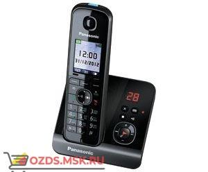 Panasonic KX-TG8161RUB — с автоответчиком, цвет черный: Беспроводной телефон DECT (радиотелефон)