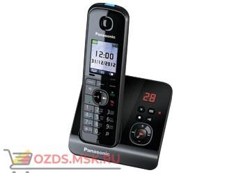 Panasonic KX-TG8161RUB-с автоответчиком, цвет черный: Беспроводной телефон DECT (радиотелефон)