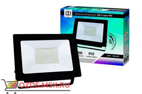 СДО-5-100 серии PRO Прожектор светод. 100Вт 230В 6500К 8000Лм IP65