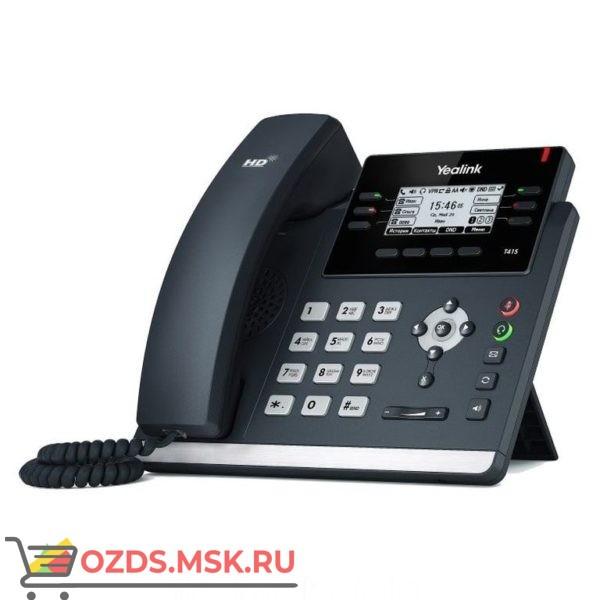 Yealink SIP-T41S IP-телефон купить по максимально низкой цене у официального дилера Yealink