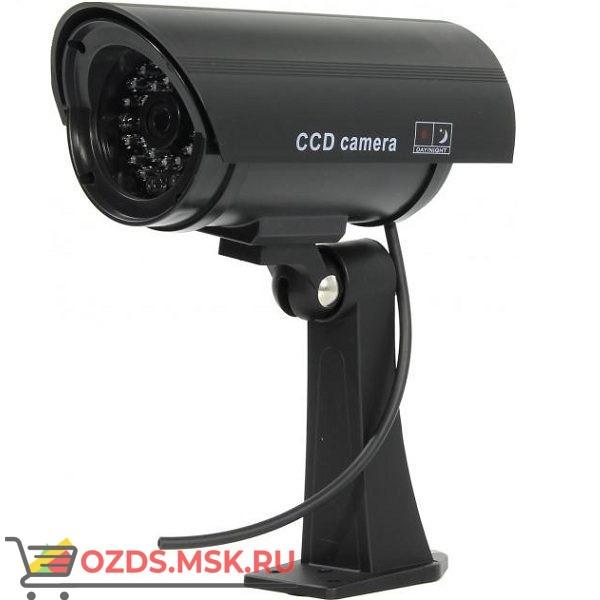 PR-117B черный: Фальш-камера цилиндрическая (муляж уличной видеокамеры)