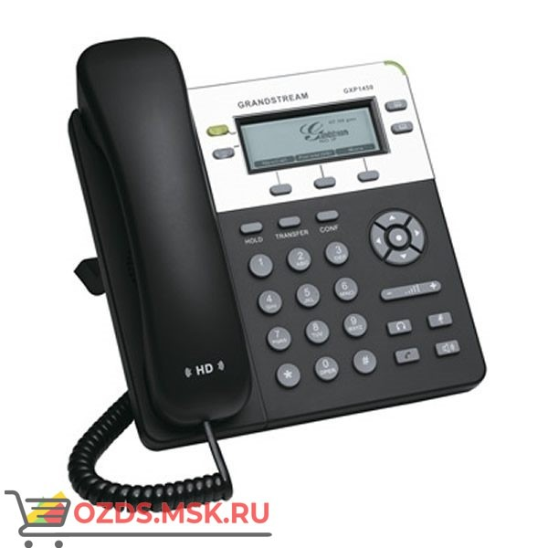 GXP1450 Grandstream, Ethernet 10100Мбс, SIP 2.0: IP-телефон