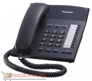 Panasonic KX-TS2382RUB проводной телефон, цвет черный: Проводной телефон