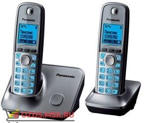 Panasonic KX-TG6612RUM-, цвет серый металлик: Беспроводной телефон DECT (радиотелефон)