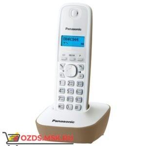 Panasonic KX-TG1611RUJ-, цвет бежевый: Беспроводной телефон DECT (радиотелефон)