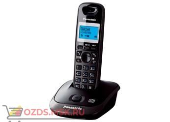 Panasonic KX-TG2521RUT, цвет темно-серый металлик: DECT (радиотелефон) с автоответчиком