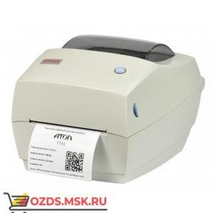 АТОЛ ТТ42 термотрансферный, 203 dpi, USB, RS232, Ethernet: Принтер этикеток