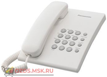 Panasonic KX-TS2350RUW-(цвет белый): Проводной телефон