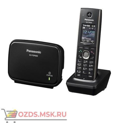 Panasonic KX-TGP600RUB Беспроводной телефон SIP DECT, цвет черный