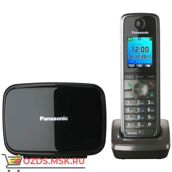 Panasonic KX-TG8611RUM-, цвет серый металлик: Беспроводной телефон DECT (радиотелефон)