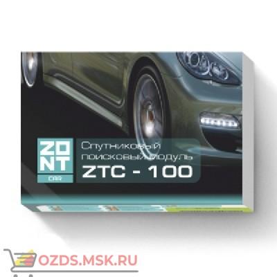 ZONT ZTC-100M Спутниковая охранно-поисковая система GPSГЛОНАСGSM (трекер)
