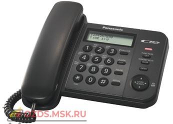 Panasonic KX-TS2356RUB проводной телефон, цвет черный: Проводной телефон