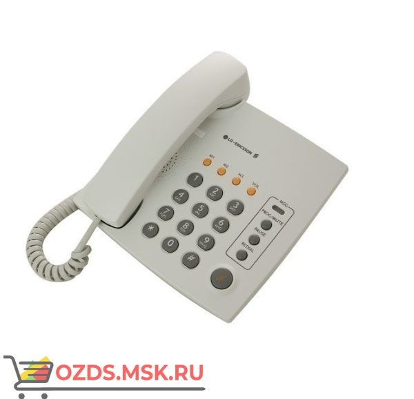 LG LKA-200SG проводной телефон, цвет светло-серый