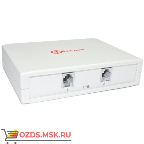 SpRecord AT2, два канала: Система записи с автоответчиком