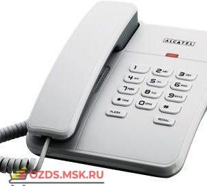 25-RS (white) Alcatel, цвет белый: Проводной телефон