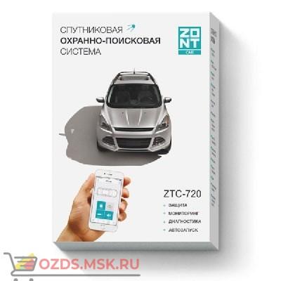 ZONT ZTC-720 Спутниковая охранно-поисковая система с GPS и GSM (автомобильный трекер, сигнализация)