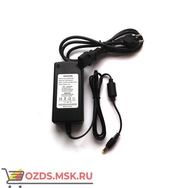 Блок питания 24V 2А кабель 1м (черный)