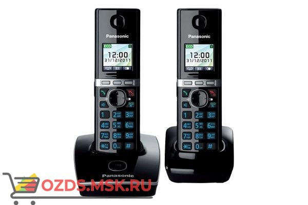 Panasonic KX-TG8052RUB: Радиотелефон