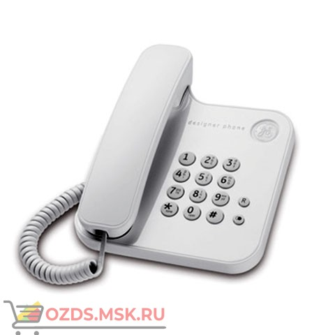 23-RS (white) Alcatel, цвет белый: Проводной телефон