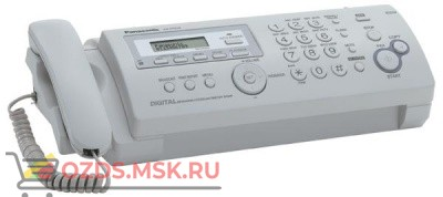 Panasonic KX-FP218RU, Телефакс, термоперенос, цвет серый