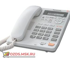 Panasonic KX-TS2570RUW проводной телефон, цвет белый: Проводной телефон