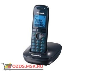 Panasonic KX-TG5511RUC-, цвет синий: Беспроводной телефон DECT (радиотелефон)