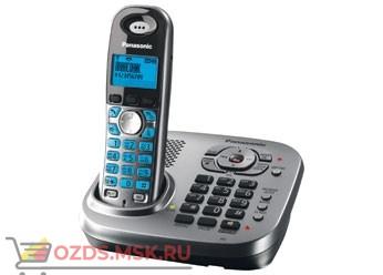 KX-TG7341RUM, цвет серый мета: Беспроводной телефон Panasonic DECT (радиотелефон) с автоответчиком