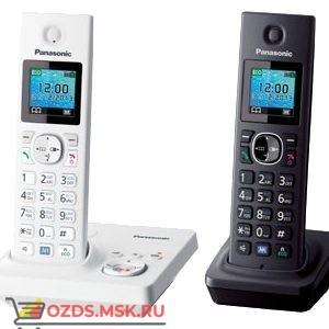 Panasonic KX-TG7862RU2 — с автоответчиком, цвет белыйчерн: Беспроводной телефон DECT (радиотелефон)