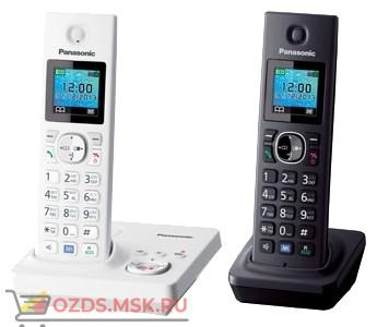 Panasonic KX-TG7862RU2-с автоответчиком, цвет белыйчерн: Беспроводной телефон DECT (радиотелефон)