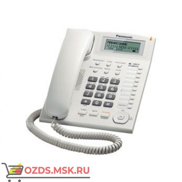 Panasonic KX-TS2388RUW проводной телефон, цвет белый: Проводной телефон