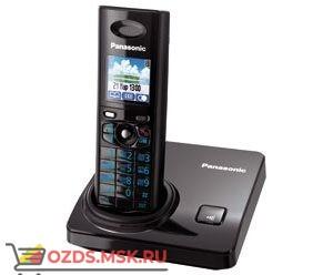 KX-TG8205RUB-, цвет черный: Беспроводной телефон Panasonic DECT (радиотелефон)