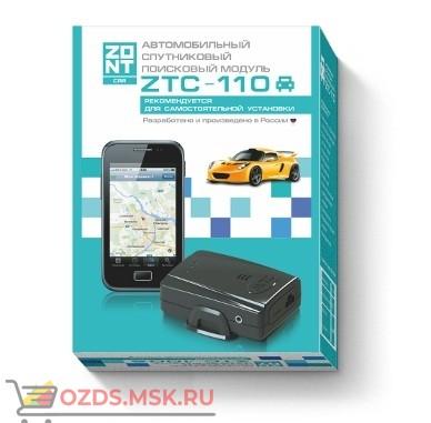 ZONT ZTC-110 Спутниковая охранно-поисковая система GPSГЛОНАСCGSM (трекер)