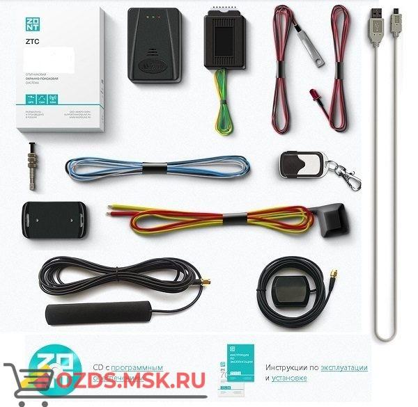 ZONT ZTC-710 Спутниковая охранно-поисковая система с GPS и GSM (автомобильный трекер, сигнализация)