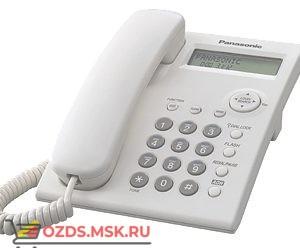 Panasonic KX-TS2351RUW проводной телефон, цвет белый: Проводной телефон