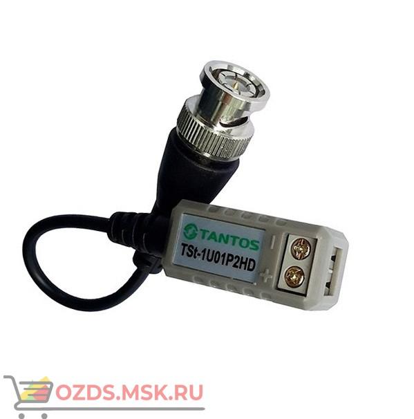 TSt-1U01P2HD Tantos: Пассивный приемник-передатчик видеосигнала по витой паре