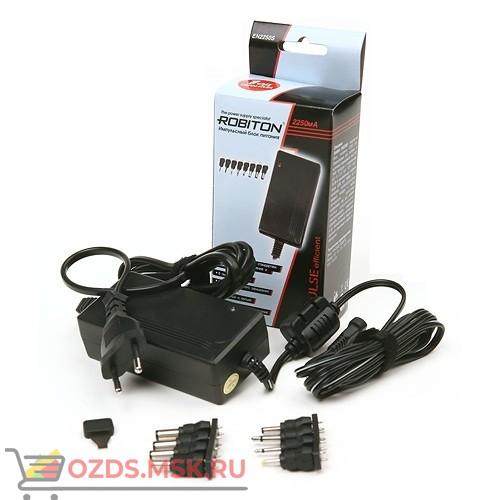 Robiton EN2250S Блок питания BL1 2250mA 3 В, 4,5 В, 5 В, 6 В, 7,5 В, 9 В, 12В сменные разъемы