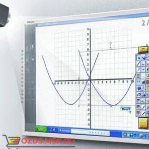 Интерактивная доска 50 IQBoard PS S050, резисторная технология, USB RS232