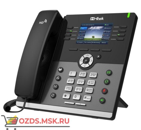 Htek UC924E RU — гигабитный цветной с Bluetooth и WiFi | SIP WiFi телефон Htek UC924E. UC924E по низкой цене у официального поставщика: IP-телефон