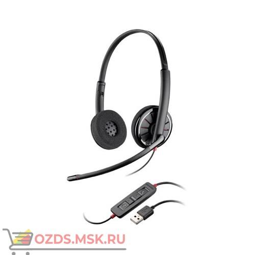 Plantronics PL-C320M BlackWire USB: Проводная USB-гарнитура