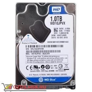 Western Digital WD10JPVX HDD 1Tb: Жесткий диск