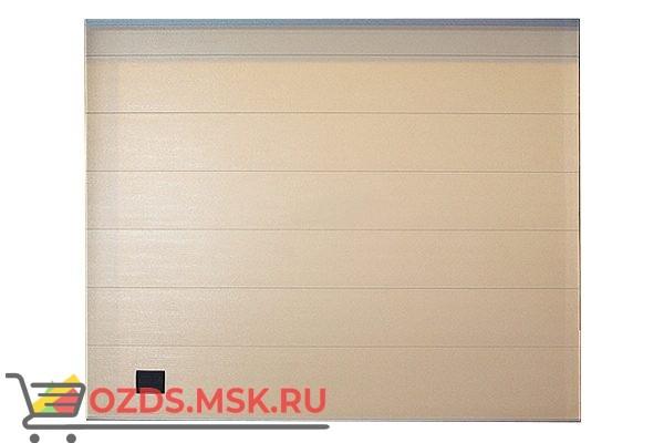 Алютех Trend 3015x2165 RAL9016 Ворота гаражные с калиткой
