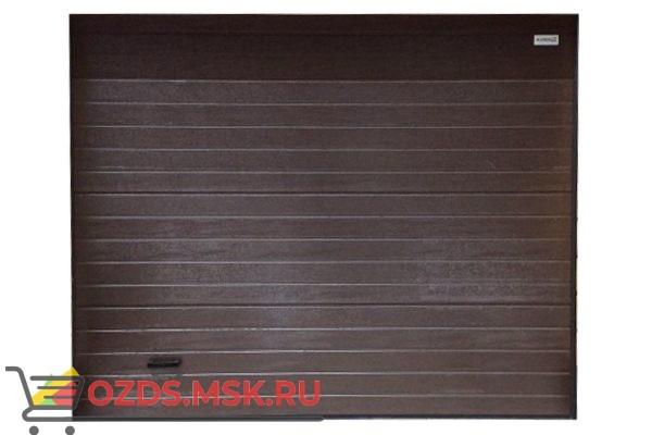 Алютех ProTrend 2990x2810 RAL8014 Ворота промышленные