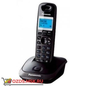 Panasonic KX-TG2511RUT-, цвет темно-серый металлик: Беспроводной телефон DECT (радиотелефон)