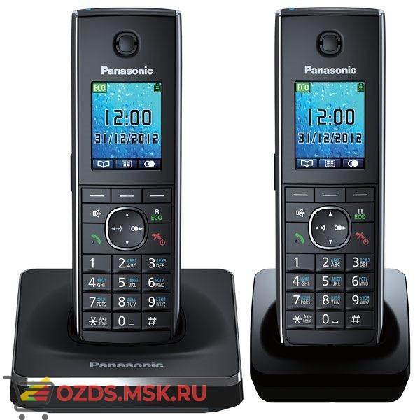 Panasonic KX-TG8552RUB - Беспроводной телефон DECT (радиотелефон) , цвет черный