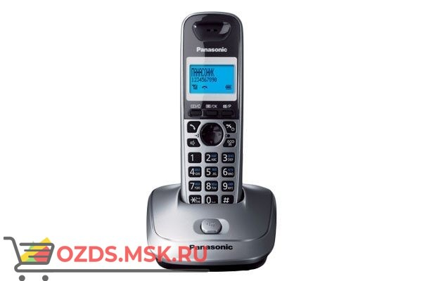 Panasonic KX-TG2511RUМ: Радиотелефон